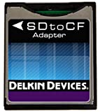 Delkin Devices DDSDFLS-AD Secure Digital to Compact Flash Adapter