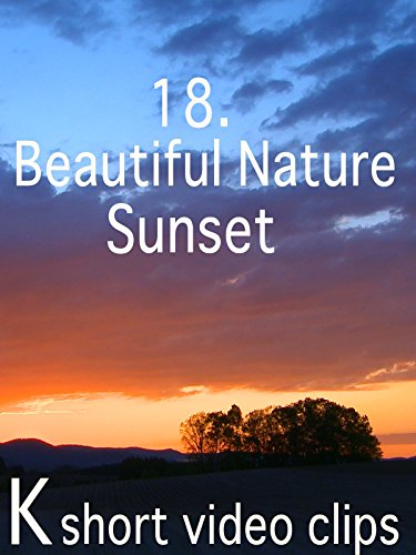 Clip: 18.Beautiful Nature--Sunset