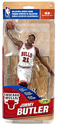 McFarlane Toys NBA Chicago Bulls Sports Picks Series 28 Jimmy Butler Action Figure [White Jersey]