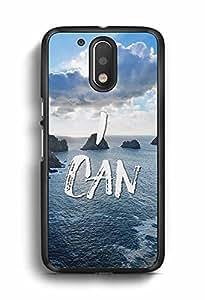 YuBingo I Can Designer Mobile Case Back Cover for Motorola G4 Plus