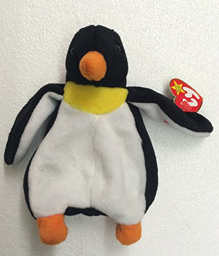 Ty Beanie Babies Waddle the Penguin Plush Doll