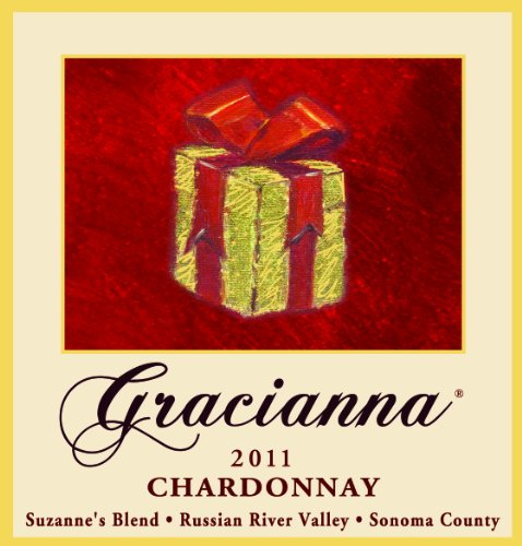 2011 Gracianna Suzanne'S Blend Russian River Valley Sonoma County Chardonnay 750 Ml