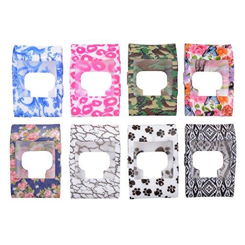 XCSOURCE 8pcs Colorful Band Cover Slim Designer Sleeve Protector for Fitbit Surge TH437