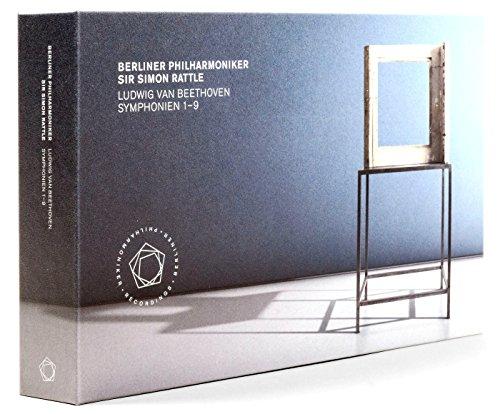 ベートーヴェン : 交響曲全集 (ベーレンライター版 / ジョナサン・デル・マー校訂版) (Ludwig Van Beethoven : Symphonien 1-9 / Berliner Philharmoniker | Sir Simon Rattle) [5CD+3Blu-ray] [Live Recording] [輸入盤] [日本語帯・解説付]