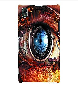 ColourCraft Lens Back Case Cover for SONY XPERIA Z1 - C6903 / C6906