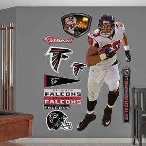 NFL Atlanta Falcons Tony Gonzalez Wall Graphics by Fathead
