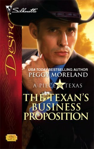 Image of The Texan's Business Proposition (Silhouette Desire)