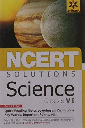NCERT Solutions Science for class 6th