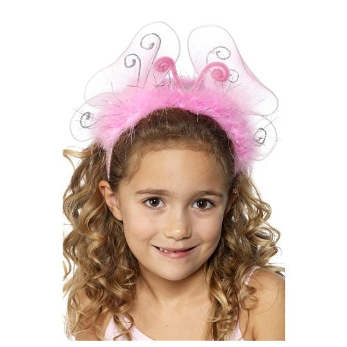 Smiffys Pink Flashing Headband Child - 1