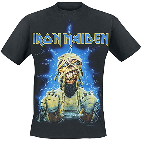 Iron Maiden Powerslave Mummy T-Shirt nero M