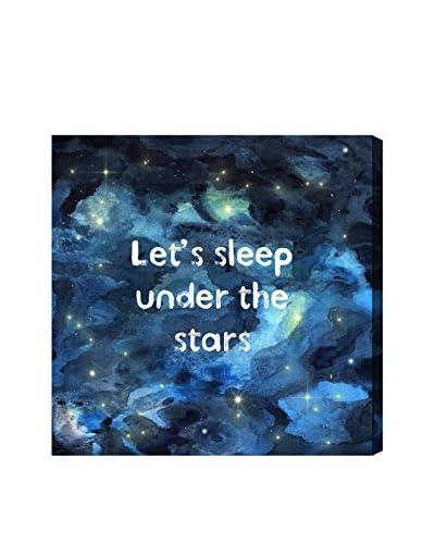 Oliver Gal Sleep Under The Stars Canvas Art