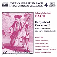Concerto for 3 Harpsichords in D major, BWV 1064 (arr. for violins): III. Allegro