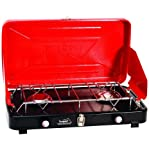 Search : Texsport Rainier Compact Dual Burner Propane Stove