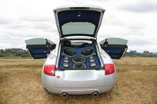 Car with Powerful Audio System - 30