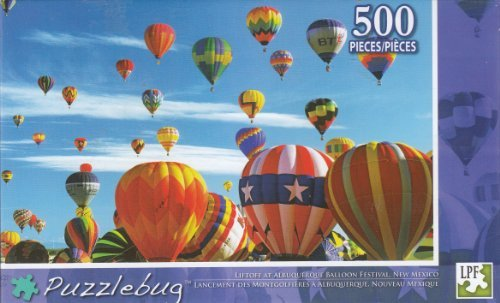 Puzzlebug 500 - Liftoff At Albuquerque Baloon - 1