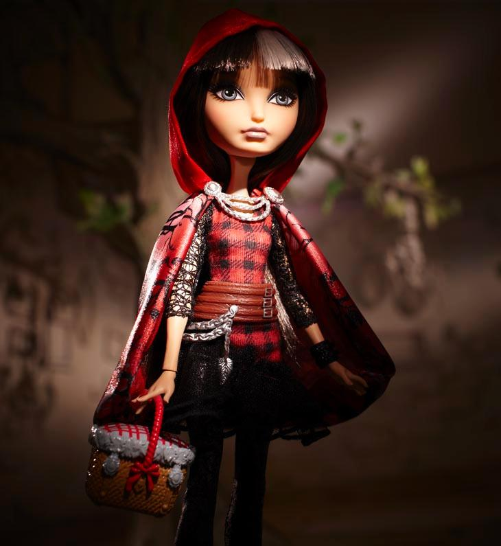 Ever After High Cerise Hood Doll Her picnic-basket purse is the