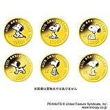 日本におけるスヌーピー40周年記念コイン 1/25オンスカラー金貨6種セット