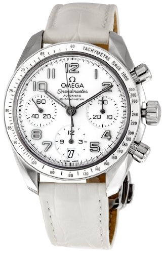 Omega Women's 324.33.38.40.04.001 Speedmaster White Dial Watch