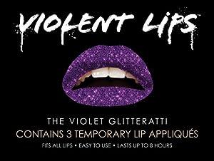 Violent Lips Glitter, Violet