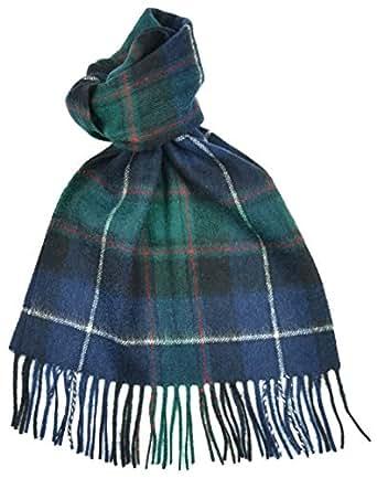 Scottish macrae hunting modern tartan clan scarf gift at amazon women