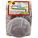 YummyEarth Organic Lollipops, Assorted Flavors, 30-Ounce Container ~ YummyEarth