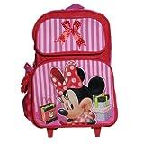 Disney Minnie Mouse Roller Backpack Bag, Pink