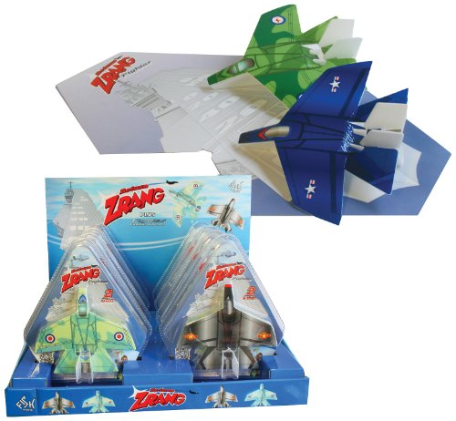 Play Visions Zrang Foam Plane Comes in Assorted Styles