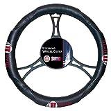 NCAA Utah Utes Licensed Steering Wheel Cover, Red, One Size