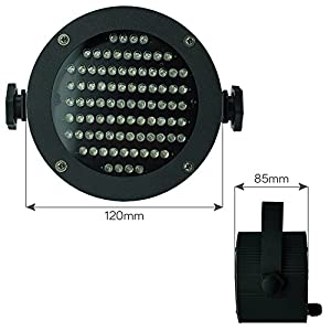 Esco Lite led stage lighting Par DMX512 RGB 86 lamp 4 channels Laser Projector Disco Party Club Pub KTV Dj