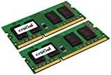 Crucial CT2C2G3S1067MCEU - 4GB (2GBX2) DDR3-1066 SODIMM - CL7 PC3-8500 204PIN FOR MAC