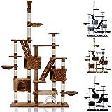 LCP Arbre à chat griffoir BIG TOWER 260 cm hauteur- Marron