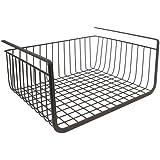 InterDesign York Storage Bin, Under Shelf Basket, Bronze