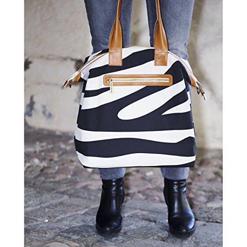 Elodie Details Sac à Langer Zebra Sunshine