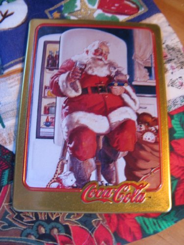 1947 Coca-Cola Santa Card (1994 Limited Edition Metal Card)