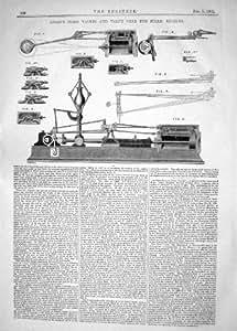 Construction des machines 1862 de machines vapeur de for Machine vapeur cuisine