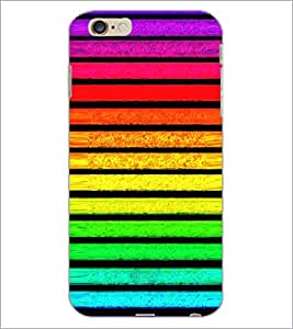PrintDhaba Pattern D-2641 Back Case Cover for APPLE IPHONE 6S PLUS (Multi-Coloured)