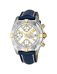 RSW Men's 4400.MS0.S0.53.00 Nazca Stainless-Steel Textured Dial Automatic Chronograph Date Watch