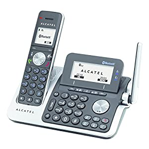 alcatel xp 2050 cordless phone with answering machine electronics. Black Bedroom Furniture Sets. Home Design Ideas