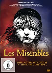 Les Miserables-10th Anniversary Concert at the [Import anglais]