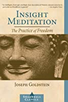 Insight Meditation: The Practice of Freedom (Shambhala Classics)