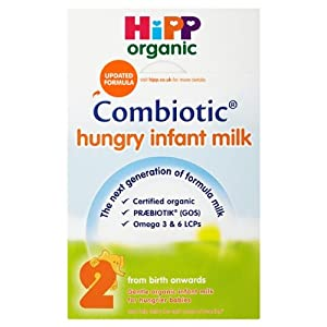 Hipp Organic Hungry Infant Baby Milk Formula Stage 2