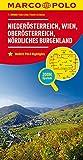 MARCO POLO Regionalkarte Österreich Blatt 1 Niederösterreich, Wien 1:200 000: Oberösterreich, nördliches Burgenland (MARCO POLO Karte 1:200000)