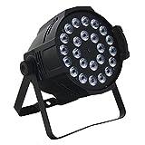 【ノーブランド品】5in1 24灯 15W LEDパーライト 舞台照明