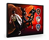 Black Eyed Peas (WK) Live Performance Framed Guitar Pick Display
