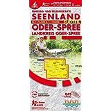 Seenland Oder-Spree Südteil: Fahrrad- und Erlebniskarte für den Landkreis Oder-Spree, Maßstab 1 : 75.000 und 1 : 175.000