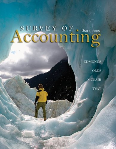 Loose-leaf version Survey of Accounting