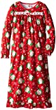 Elf on The Shelf Big Girls'  Holiday Lights Nightgown