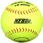 Reebok VR-4000 Series VRHSB-SP NFHS Approved 12 inch Synthetic Leather Softball (Sold in Dozens)