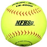 Reebok VR-3000 Series VRHSB-SP NFHS Approved 12 inch Synthetic Leather Softball (Sold in Dozens)