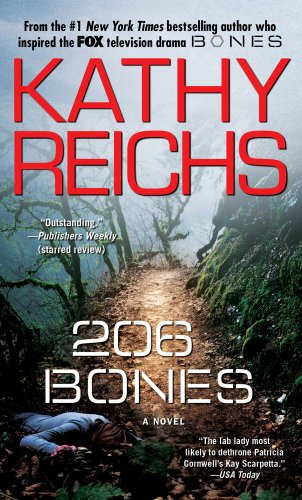 206 Bones: A Novel (A Temperance Brennan Novel)